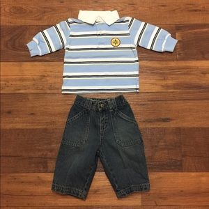 Baby Boy Gymboree Outfit Size 3-6 Months